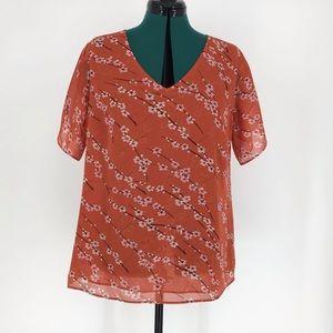 Cabi Clothing Split Sleeve Top, #5712, Medium